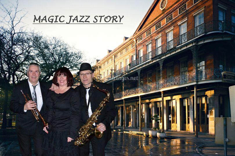 Magic Jazz Story ( Trio )