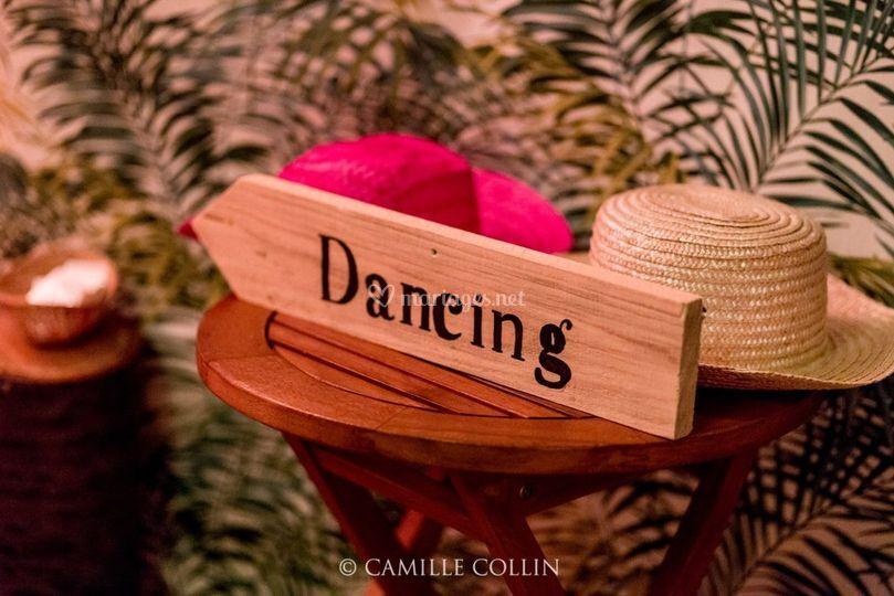 Décoration dancing - Tropical