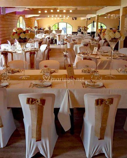 Décoration salle et tables