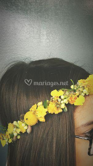 Couronne cheveux