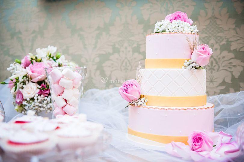 Wedding Cake Marie Antoinette