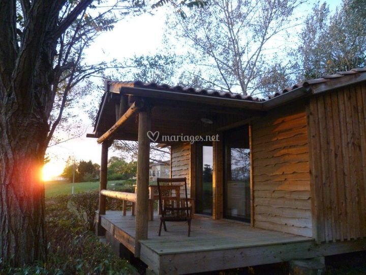 Chalet au camping