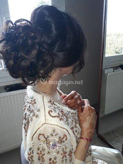 Chignon mariage