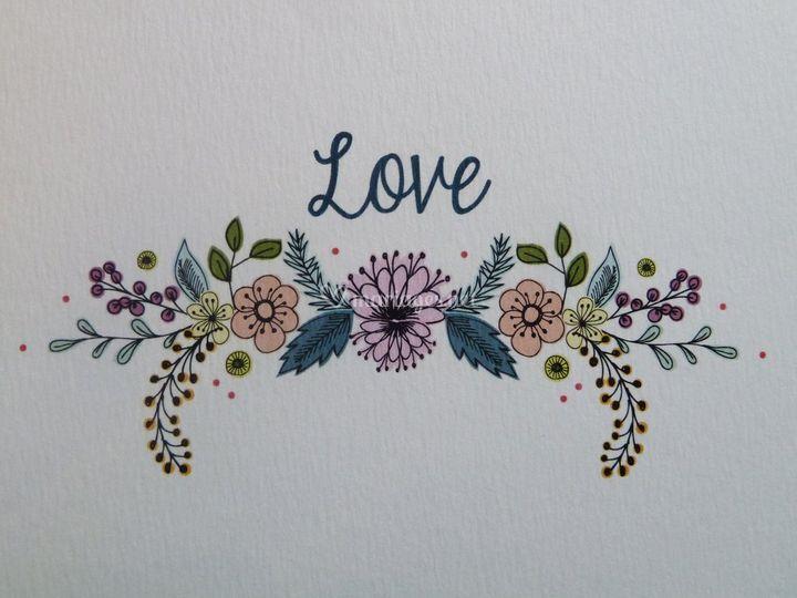 Détail Love BOHO
