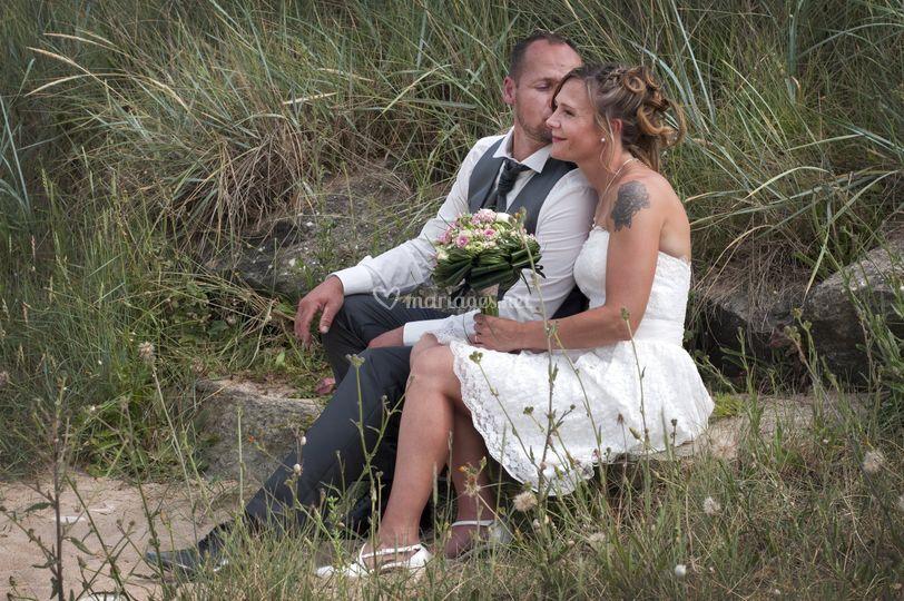 Photos de couple à Hermanville