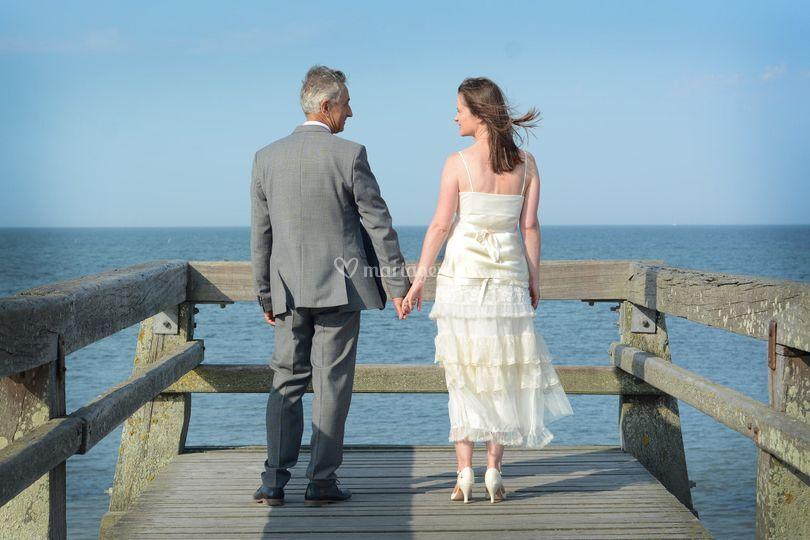 Mariage à Luc sur mer