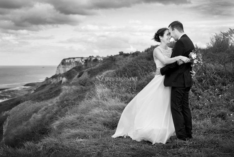 Mariage sur les falaises