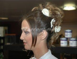 Comment arborer une belle coiffure de mari�e