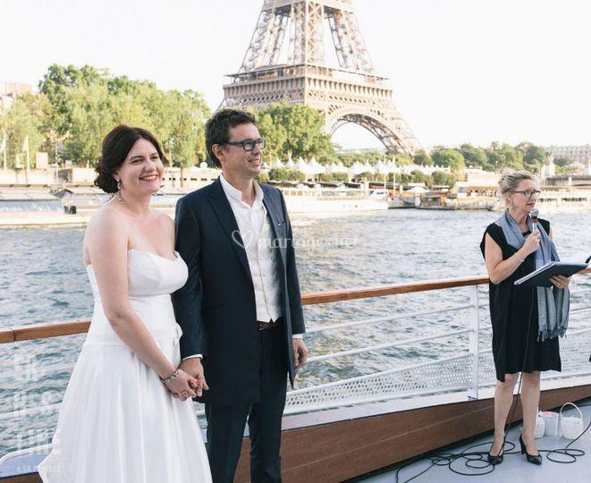 Cérémonie à Paris