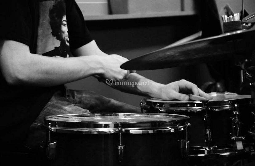 Drum (en studio)