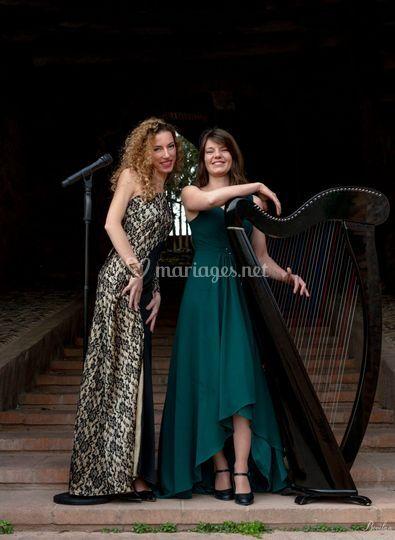 Duo harp'ange