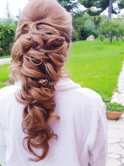 Coiffure boucle