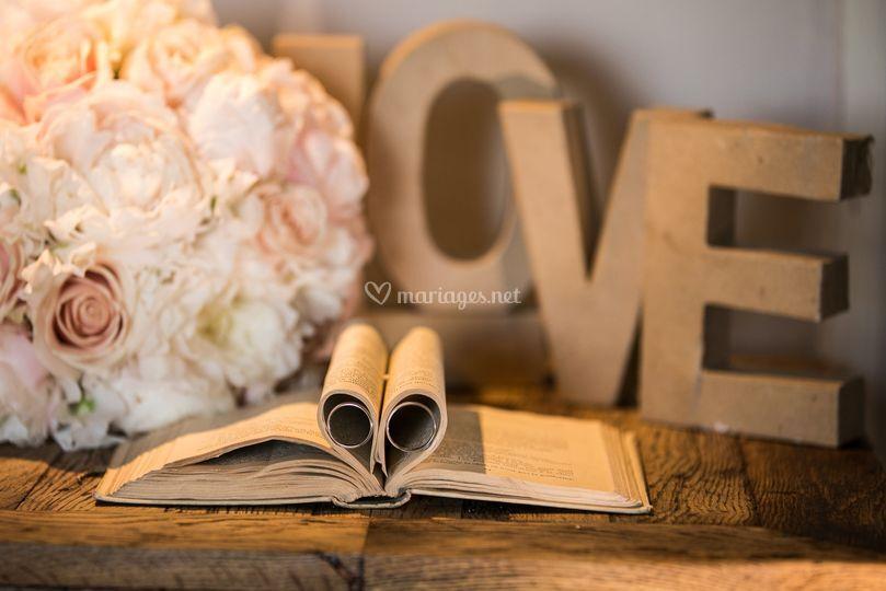 Alliance bouquet d mariage