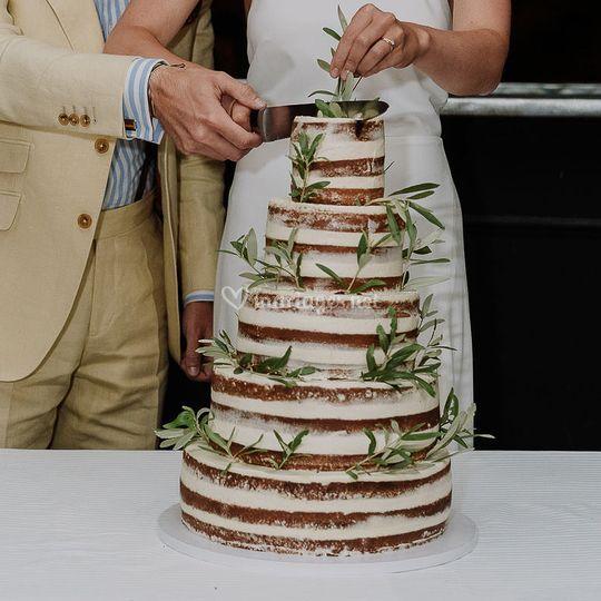 Gateau Naked Cake