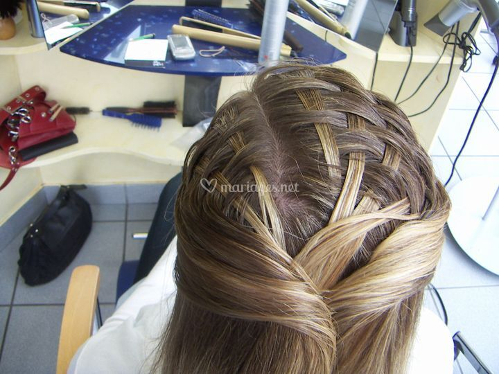 Coiffure canage plat