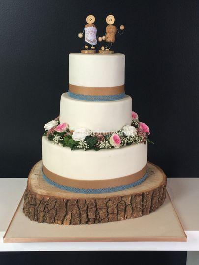 Wedding Cake Champetre De Les Gateaux De Nino Photo 33