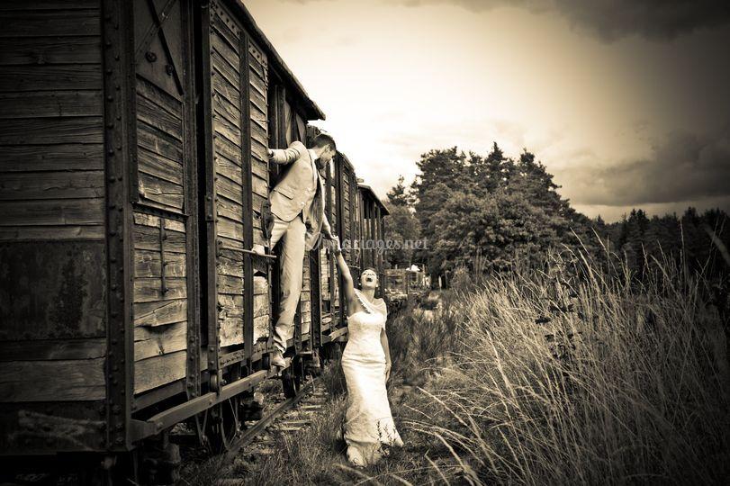 Les amoureux des rails ...