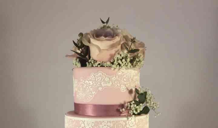 Wedding Cake Champêtre Rétro