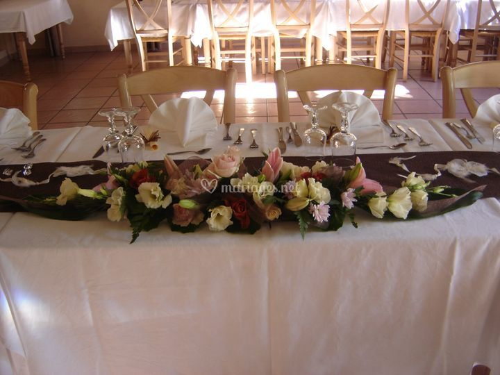 Centre table allongé