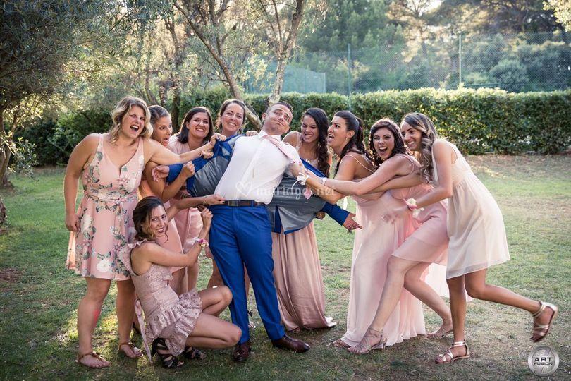 Photo de groupe fun