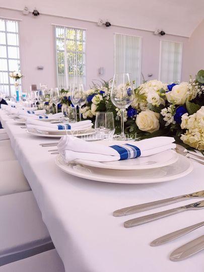 Décoration Table des mariés