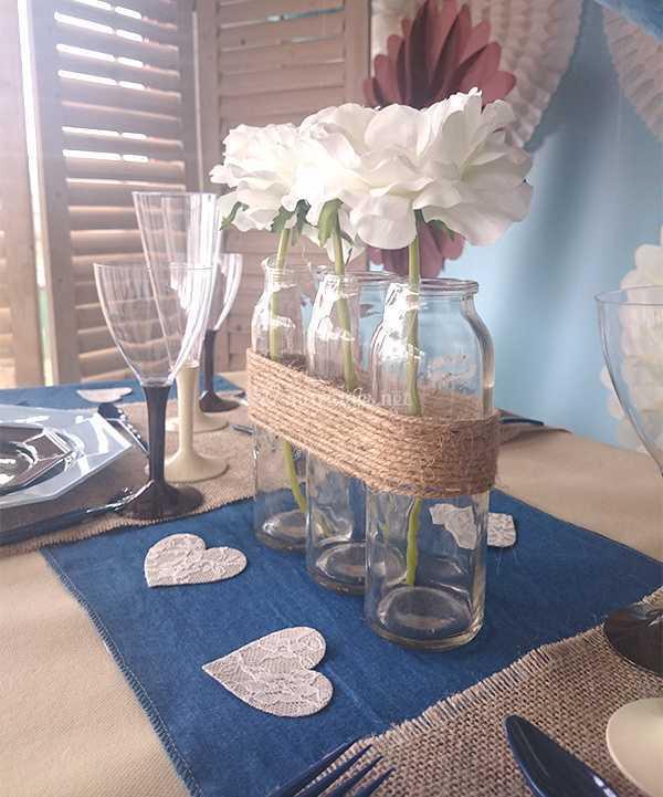Centre De Table Pour Mariage De Le Geant De La Fete Photo 16