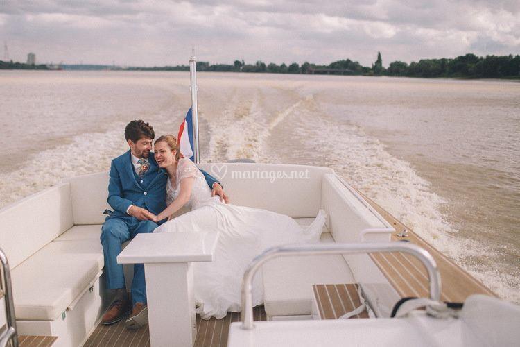 Transfert en bateau