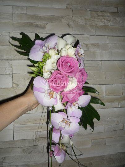 Bouquet de mariée Cyrielle