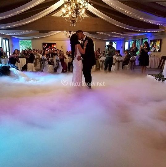 Ouveture de bal sur un nuage