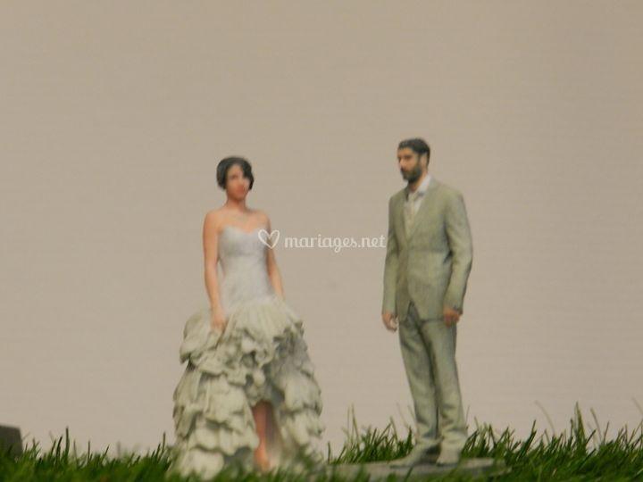 Figurines de couple
