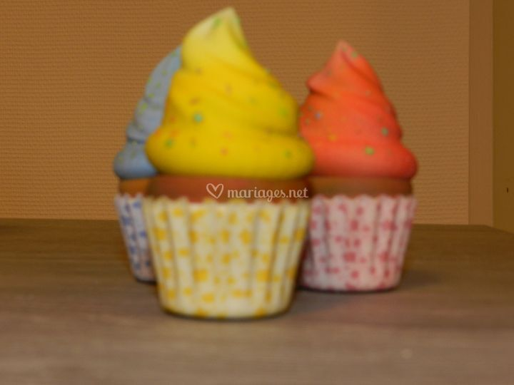 Muffins décoratifs
