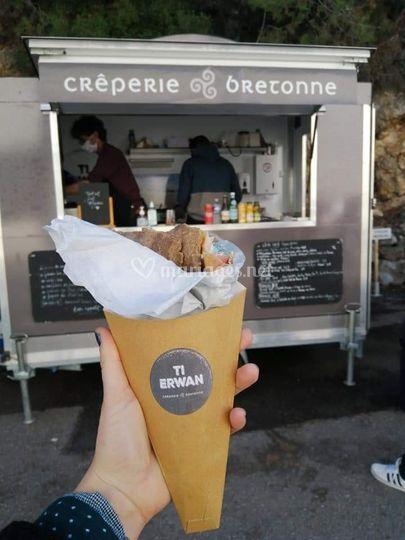 Photo cone galette
