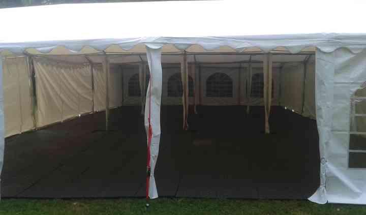 3 tentes accolées/longueur