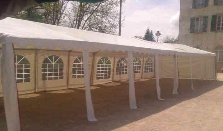 2 tentes accolées / largeur