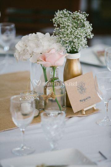 Cocotte et Coquette table
