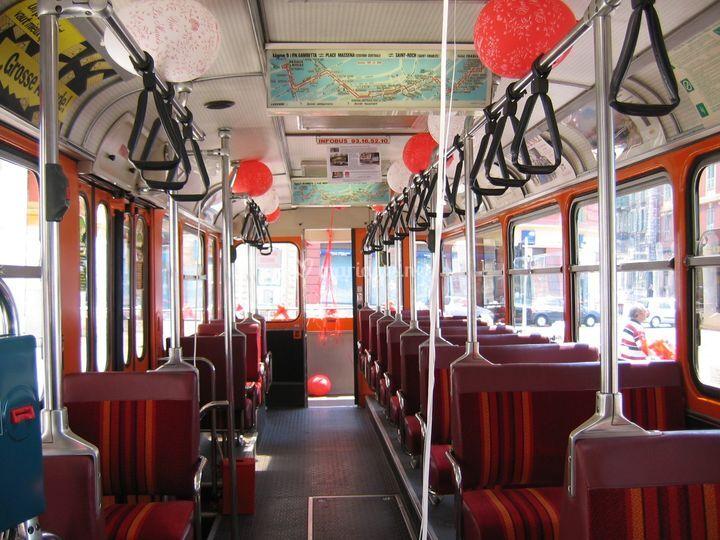 Bus intérieur