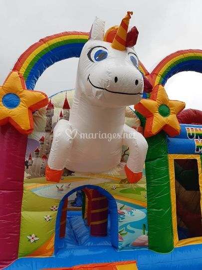 Structure Gonflable licorne