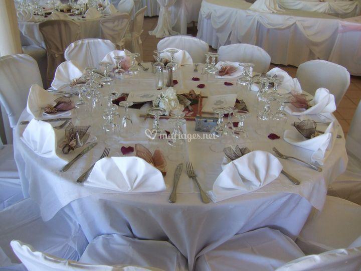 Mariage - décoration de table
