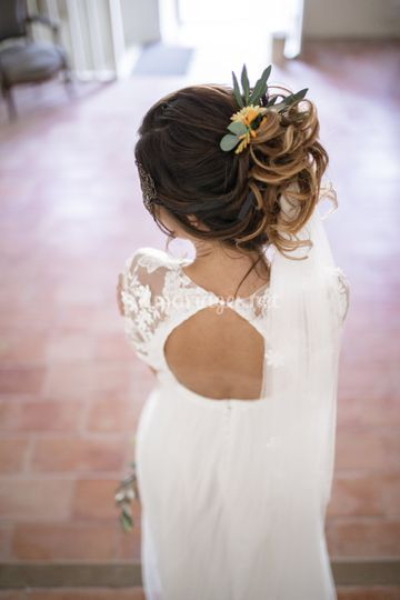 Coiffure glamour