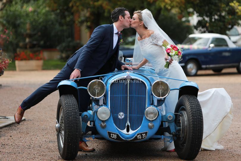 Mariage en voiture