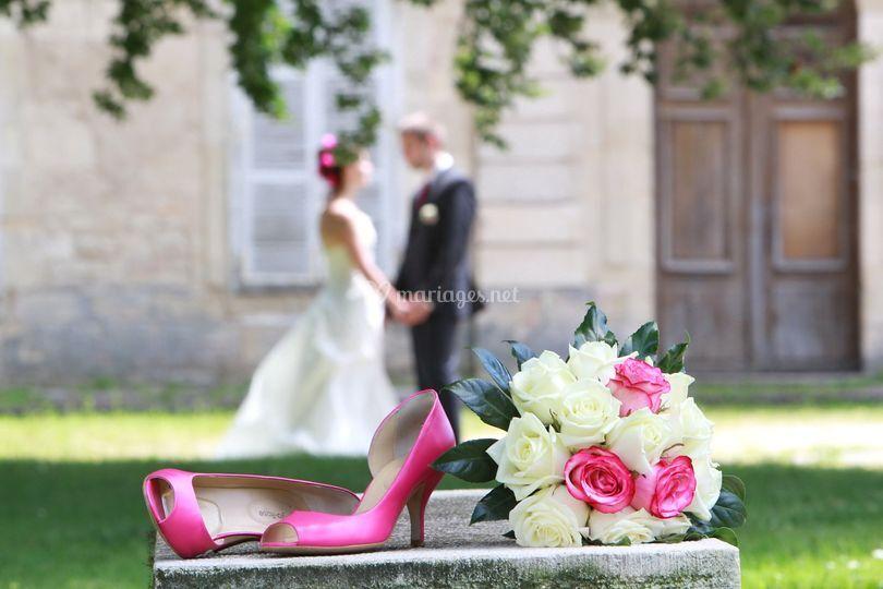 Chaussures & bouquet