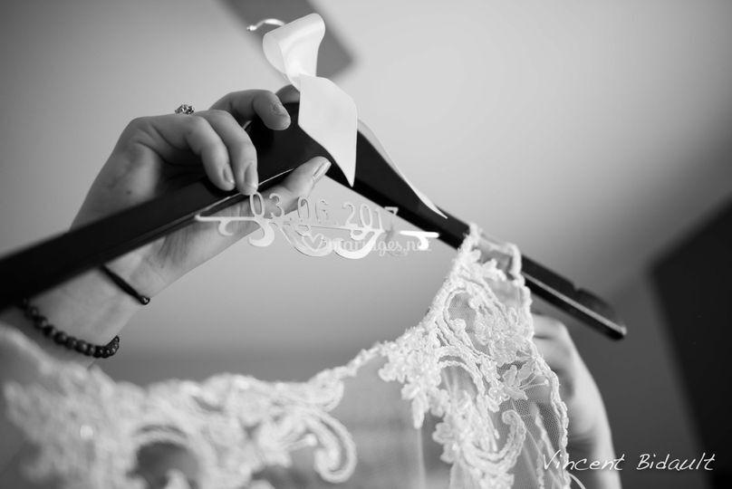 Préparation de la robe