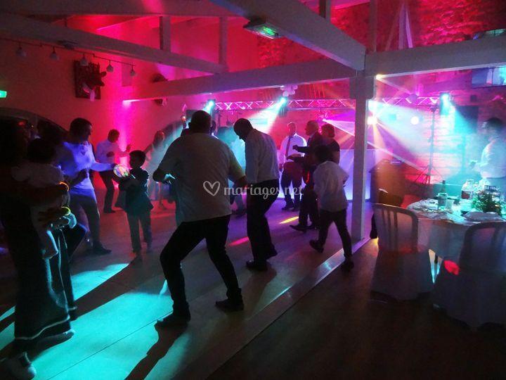 Nuit dansante soirée mariage