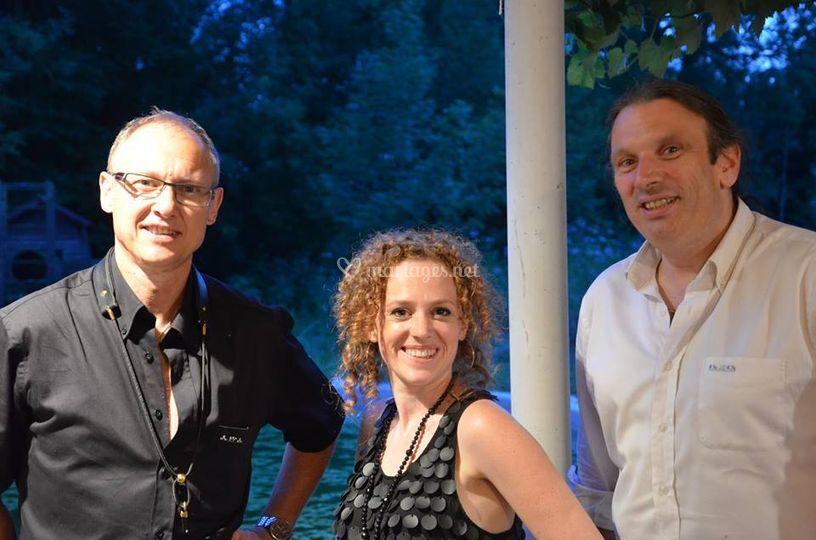 Le trio piano-voix-sax