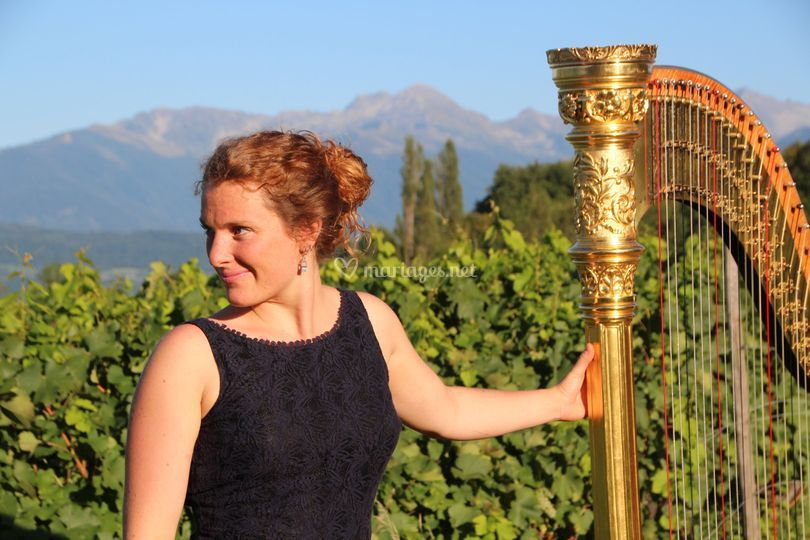 Claire Duchateau, Harpiste