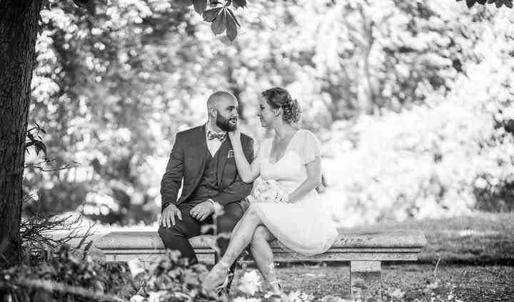 Photos de couple en foret