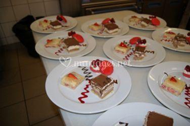 Desserts décorés