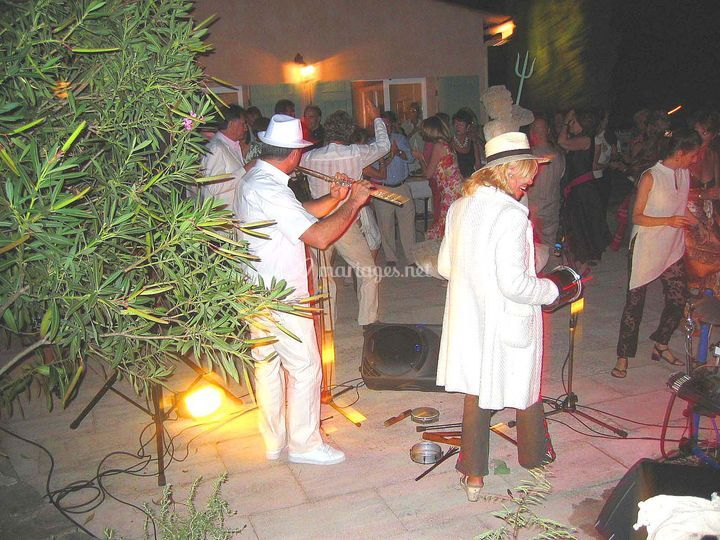 Orchestre mariage cocktail