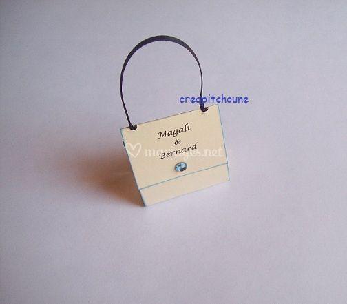 Petit sac avec prénoms sans dragée