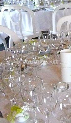 La table décorée